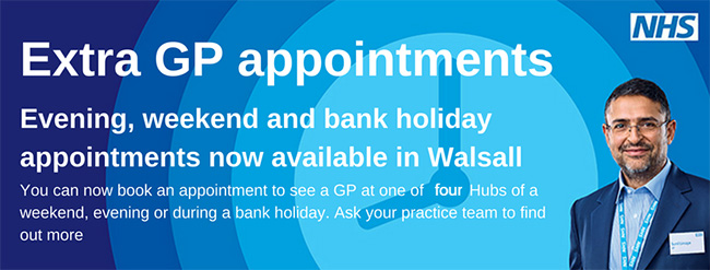 Extra GP Appointments are available
